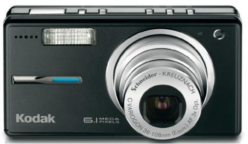 Kodak Easyshare V603 6.1 MP Digital Camera with 3xOptical Zoom (Black)