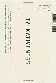 Talkativeness Book Cover