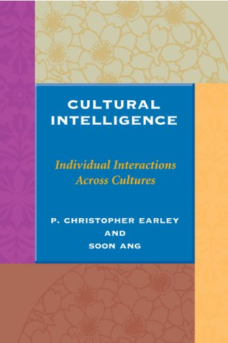 Cultural Intelligence: Individual Interactions Across...