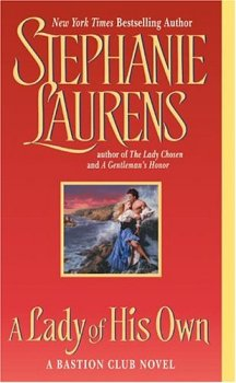 A Lady of His Own (A Bastion Club Novel), Stephanie Laurens