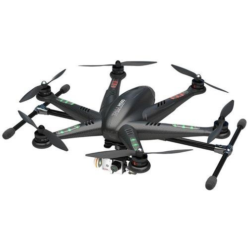 Walkera TALI H500 RTF1 FPV RC Drone Hexacopter with G-3D Brushless Gimbal, iLook+ Action Camera (Black) [並行輸入品]
