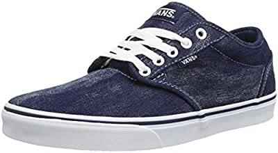 Vans M Atwood, Baskets mode homme - Bleu (Denim Acid Was), 42 EU (9.0 US)