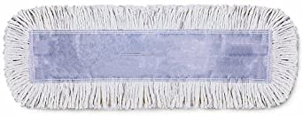 "Wilen C401018, Tie-Free Disposable Dust Mop, 18"" Length x 5"" Width (Case of 12)"