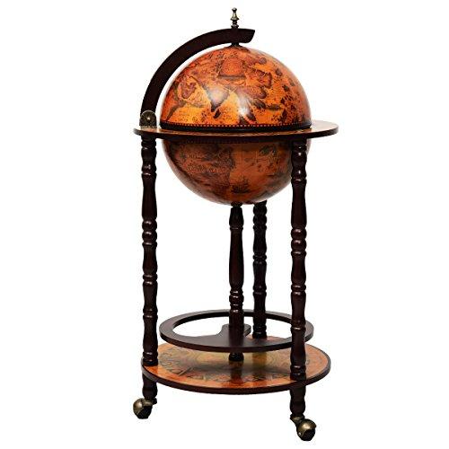 globusbar globus bar minibar hausbar weltkugel cocktailbar dekobar tischbar neu. Black Bedroom Furniture Sets. Home Design Ideas