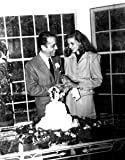 Humphrey Bogart wedding, cake #53 – 11×14 Photograph High Quality