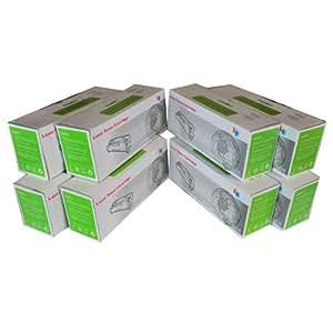 8pk Compatible Cyan Mageneta Yellow Black HP Laser Toner Cartridge For Laserjet CM2320fxi CM2320n CM2320nf CP2025dn CP2025n CP2025x