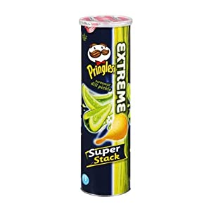 Pringles Xtreme Screamin' Dill Pickle Flavored Potato Chips 5.96oz (2 Packs)