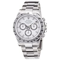 [ロレックス]ROLEX デイトナ ホワイト文字盤 クロノグラフ SS 腕時計 Ref.116520 メンズ 【並行輸入品】