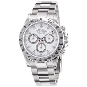 【クリックで詳細表示】[ロレックス]ROLEX デイトナ ホワイト文字盤 クロノグラフ SS 腕時計 Ref.116520 メンズ 【並行輸入品】