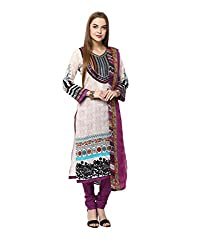 Yepme Women's Multi-Coloured Blended Unstitiched Suits - YPMRTS0309_Free Size