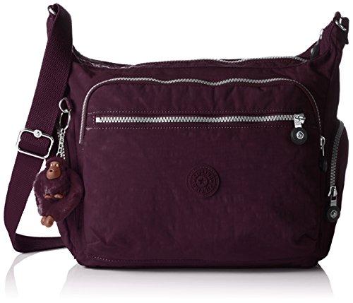 Kipling Gabbie, Borsa a Tracolla Donna, Viola (REF34Z Plum Purple), 35.5x30x18.5 cm (B X H X T)