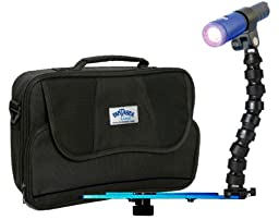 Fantasea Action 700 LED Lighting Set with Blue Ray Tray, Flex Arm & BlueRay YS Mount A (also fits GoPro)