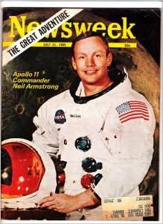 newsweek magazine apollo 8 january 6, 1969. anders, lovell, borman