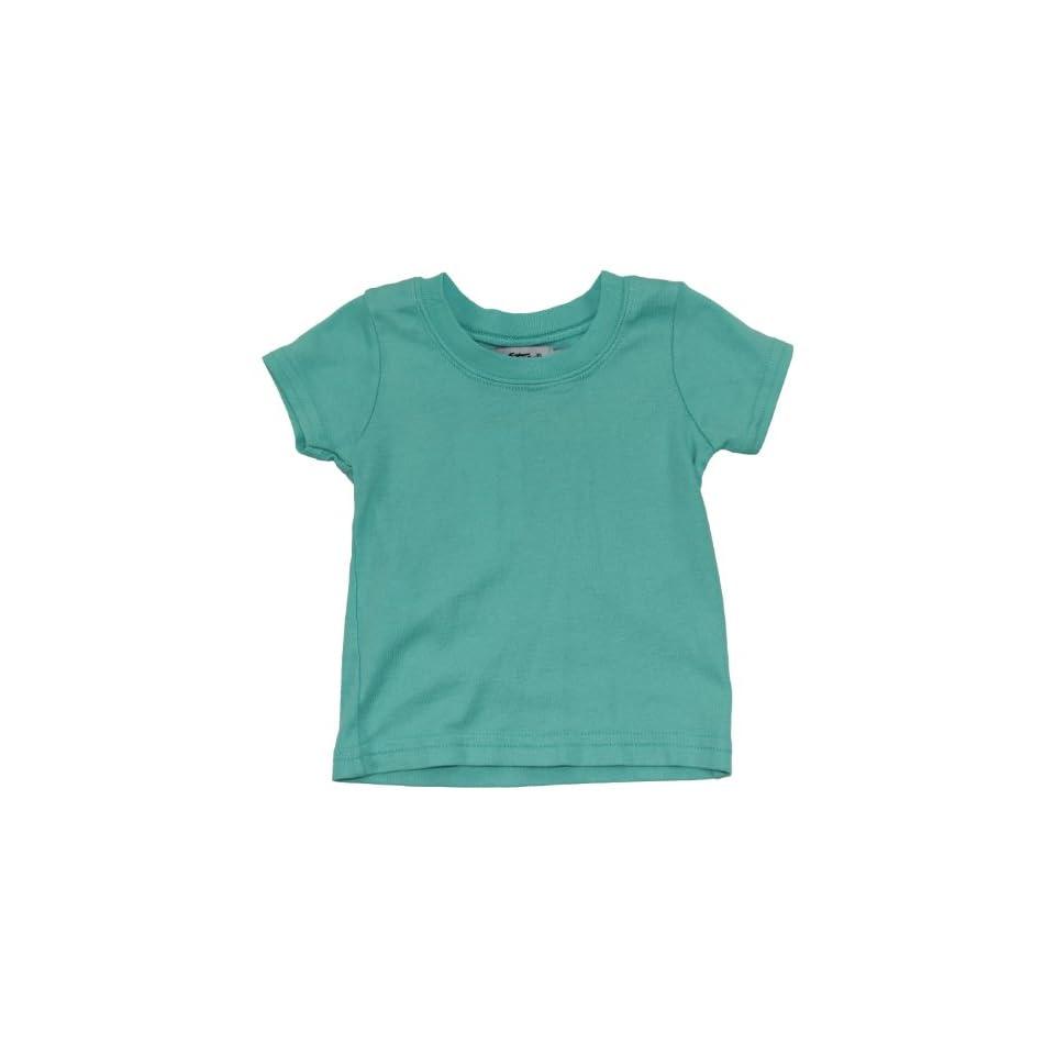 Mikey Stars Newborn Baby Boys Short Sleeve Cotton Tee Shirt 3 6MBlue Clothing