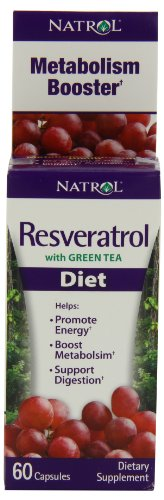 Natrol Resveratrol Diet Fast Capsules, 60-Count