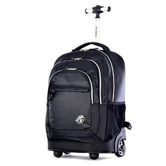 Amazon.com: Olympia Gen-X 19 Inch Rolling Backpack, Black