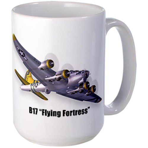 CafePress Large Mug - B17 Flying Fortress - Standard