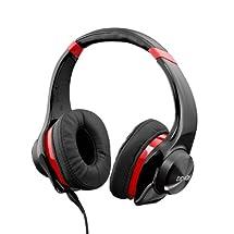 Denon Urban Raver AH-D320 Headphones - Black/Red