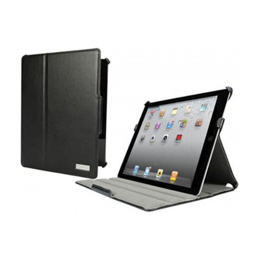 Cygnett Armour Folio Case with Stand for iPad 2/3 and iPad with Retina Display - Black (CY0766CIARM)
