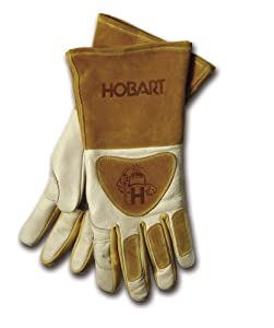 Hobart 770440 Premium Form Fitted Welding Gloves by Hobart