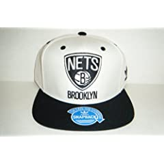 Brooklyn Nets NEW Authentic Snapback Hat Undervisor Shows Skyline by adidas