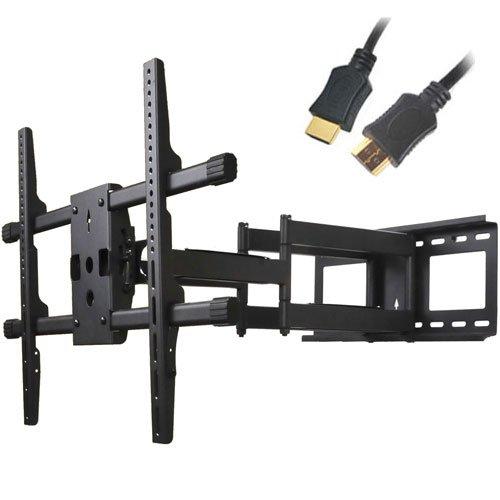 "Videosecu Full Motion Cantilever Tilting Tv Mount Bracket For Most 32"" To 65"" Sony Bravia, Panasonic, Samsung, Lg, Sharp, Vizio, Haier, Westinghouse Lcd Led Plasma 3D Hdtv A37"