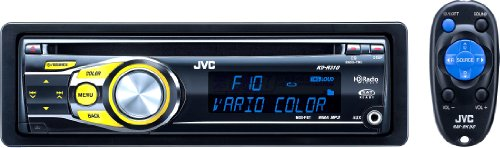 Jvc Kd-R310 In-Dash Cd Receiver W/ Front Aux Input, Detachable Screen, Wireless Remote, And Hd Radio/Satellite Radio/Bluetooth Add-On Capability