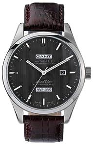 GANT Limited Edition W10421 - Reloj de caballero automático, correa de piel color marrón