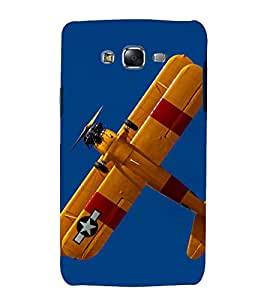 printtech Superfast Sky Airplane Propeller Back Case Cover for Samsung Galaxy A8::Samsung Galaxy A8 A800F