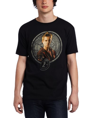 FEA Merchandising Men's Hunger Games Movie Cato In Stone Seal Tee