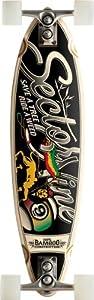 "Sector 9 Bamboo Hot Steppa Sidewinder Complete Longboard Skateboard - 8.37"" x 32.5"""