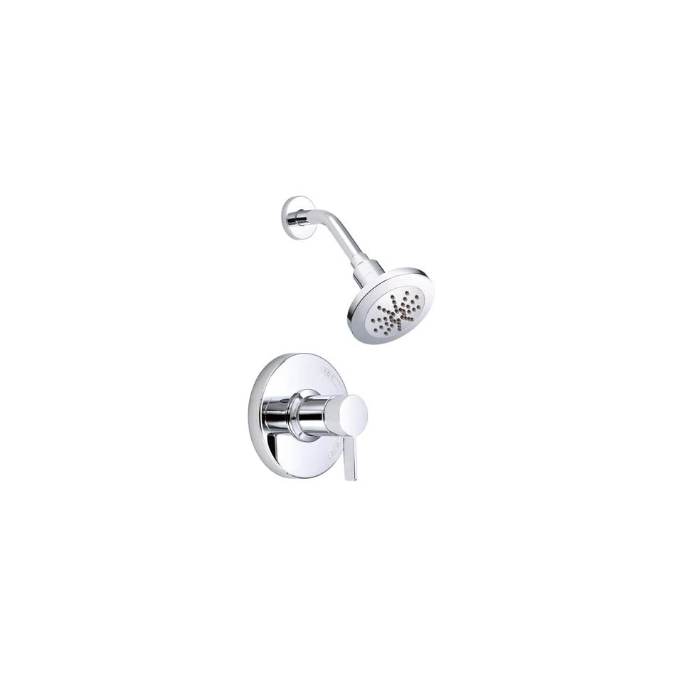 Danze Amalfi Chrome Single Handle Pressure Balance Shower Only Faucet INCLUDES Rough in Valve