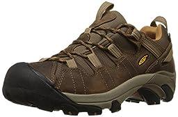 KEEN Men\'s Targhee II Hiking Shoe,Cascade Brown/Brown Sugar,10 M US