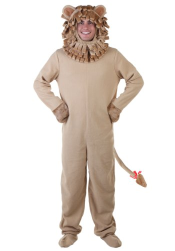[Large (Large)] (Cowardly Lion Costumes For Adults)