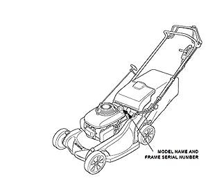 GENUINE OEM Honda Harmony II HRR216 (HRR2169PKA) (HRR2169VKA) Walk-Behind Lawn Mower Engines AIR FILTER CLEANER ELEMENT (Frame Serial Numbers MZCG-8670001 and up) by HONDA