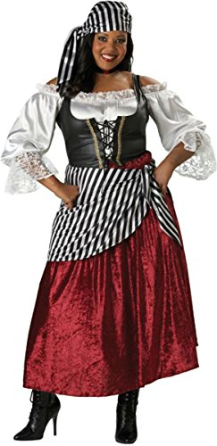 Pirate's Wench Costume - XXX-Large - Dress Size