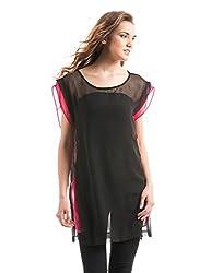 Prym Women's Tunic Shirt (1011516902_Black_X-Large)