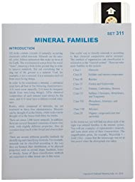 American Educational Microslide Mineral Families Lesson Plan Set (Box of 15)