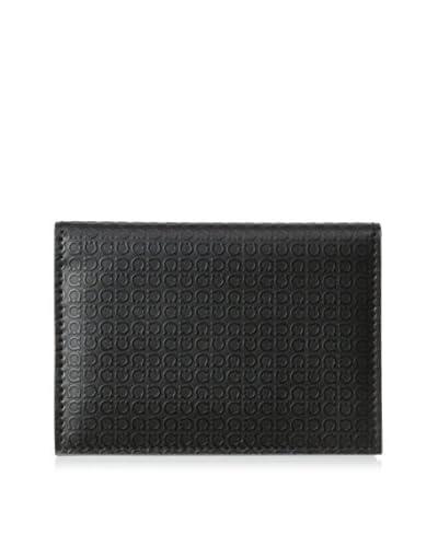 Salvatore Ferragamo Men's Minigancino Wallet, Nero