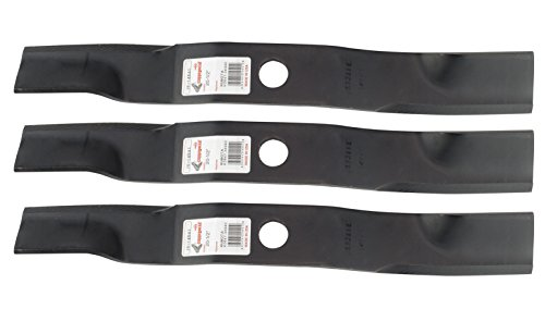 """3 Rotary® Mower Blades Fit Kubota® Models ZD ZG KOHLER® ZD1F-60P ZD21 ZD25 Replaces K5647-34330 3 Blades For 60"""" Deck (Kubota Mower Blades compare prices)"""
