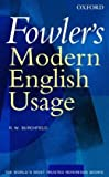 Fowler's Modern English Usage (0198610211) by Burchfield, R. W.