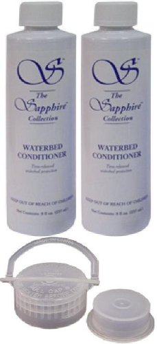 2 Bottles of 8 oz Blue Magic Sapphire Waterbed Conditioner with Cap & Plug (Waterbed Conditioner Blue Magic compare prices)