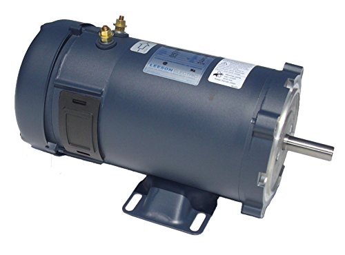 2 Hp 1800 Rpm 56Cz Frame 24 Volts Dc Tefc Leeson Electric Motor # 109106