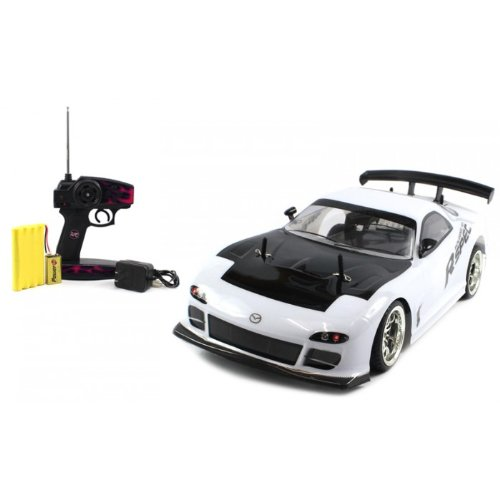 Electric Full Function 1:10 CT Speed Racing Mazda RX-7 R-Spec 10+MPH RTR RC Car (Colors May Vary)