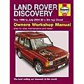 Haynes Workshop Manual Landrover Discovery Diesel 98 to 04