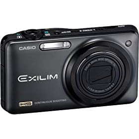 Casio Exilim ZR-10 Digital Camera (Black)