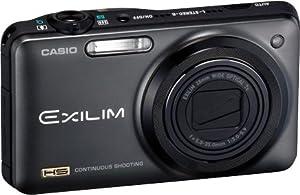 Casio Exilim EX-ZR10 Digital Camera with 12 MP CMOS Image Stabilized Sensor (Black)