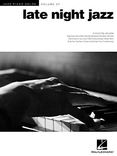 Jazz Piano Solos: Late Night Jazz