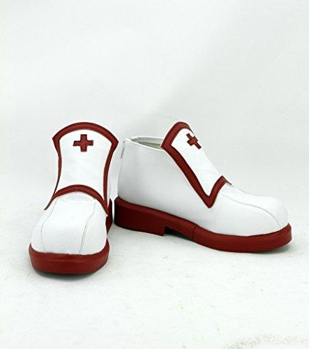 16a11e2bf76f SAO Sword Art Online Asuna Cosplay Shoes Maid Boots Custom Made