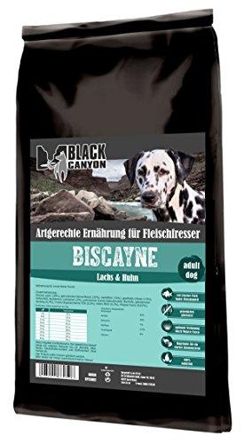 Bild: BLACK CANYON Trockenfutter BISCAYNE Lachs  Huhn getreidefrei für Hunde 15 kg